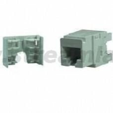 N420.416 Модуль универсальный Nexans Essential-5, snap-in, LSA/110, 1хRJ45, кат. 5e, неэкр.
