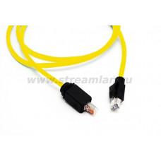 N10i.E34DJ Шнур коммутационный Nexans LANmark Industry, экр., RJ45 IP67/RJ45, кат. 6, PVC, 1.5м, жёлтый