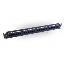 """ST 135U 124 4 Коммутационная патч-панель, 19"""", 1HU, 24x RJ45, кат. 5e, неэкр.,1U"""
