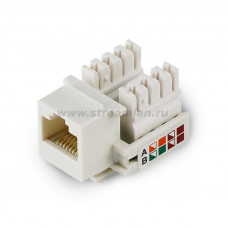 ST 145U 001 5 Модуль универсальный , keystone, 1хRJ45, кат. 5e, UTP, 90°
