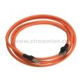 Шнур коммутационный Nexans LANmark-5, экр., RJ45/RJ45, кат. 5e, LSZH, 1м, оранжевый